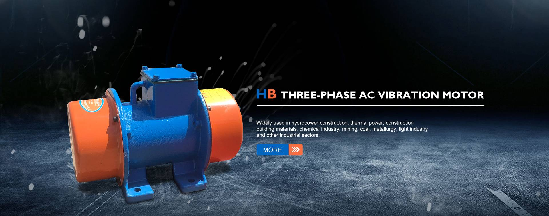 HB Three-phase AC Vibration Motor