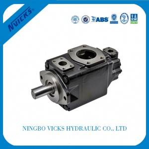 T6  Series Double Pump Low Noise Powerful Vane Pump