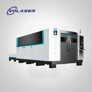Fiber Laser Machine 3015H Cutting