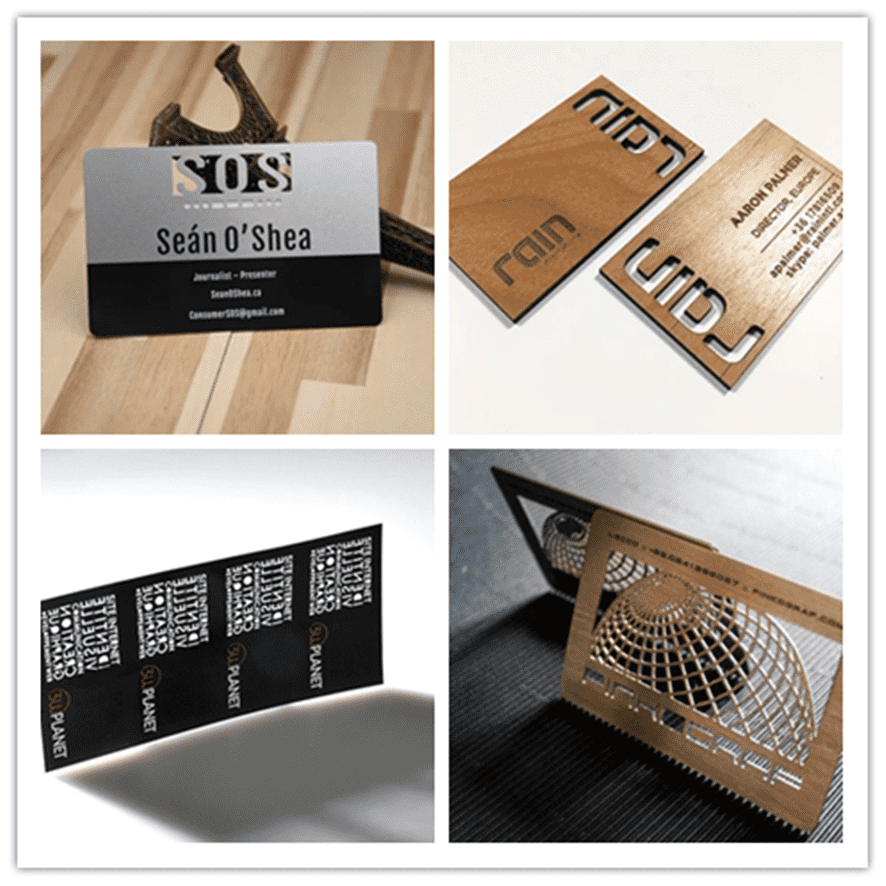 Business Card Laser Engraving Machine, Enabling Business and Social Communication