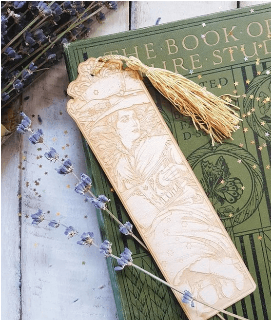Laser engraving exquisite bookmarks, accompany you to roam the ocean of knowledge!