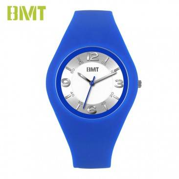 VT-SW1901 Fashion Unisex Ultra Thin Slim Lifestyle Japan Quartz Movt Silicone Watch