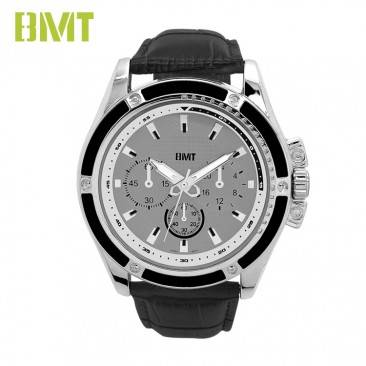 VT-S1927 Hot Sporty Genuine Leather Bracelet Analog Men Quartz Watch