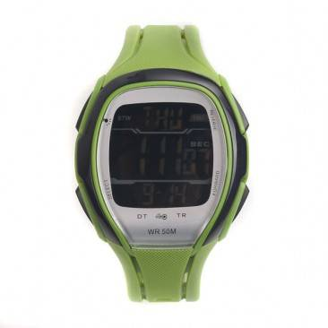 VT-D501 Custom Horseshoe Shaped Men's LCD Digital Timer Function Fashion Watch