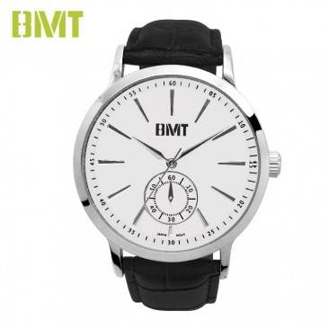 VT-S1921 BMT High Quality Analog Quartz Alligator Print Genuine Leather Men Watch