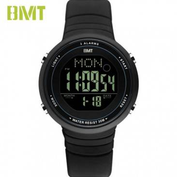 VT-DW1913 Direct Factory Customized Round Screen Unisex Simple LCD Digital Sport Watch