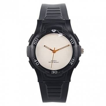 VT-P1904 China Watch Supplier Manufactured Cool Black Analog Sport Wrist Watch For Men