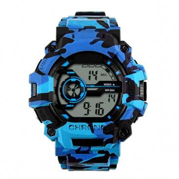 VT-D782 Custom Men's Multi-functional Digital Sport Wrist Camouflage Watch