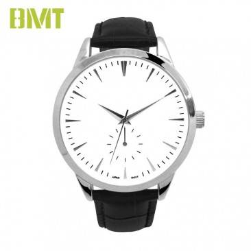 VT-S1909 Watch Manufacturer Custom Genuine Leather Strap Alloy Watch