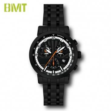 VT-SS1505 Custom Design Multifunctional Dual Dial Steel Metal Man Watch