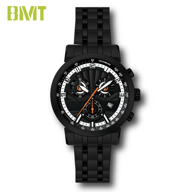 VT-SS1505 Custom Design Multifunctional Dual Dial Steel Metal Man Watch Featured Image