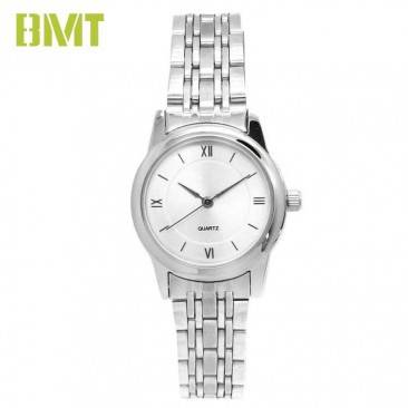 VT-S1942 Factory Manufactured Classic Folded Stainless Steel Bracelet Alloy Watch