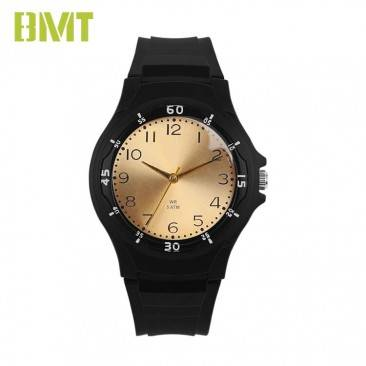 VT-P1008 Factory OEM Custom Men's Black Plastic Sport Watch