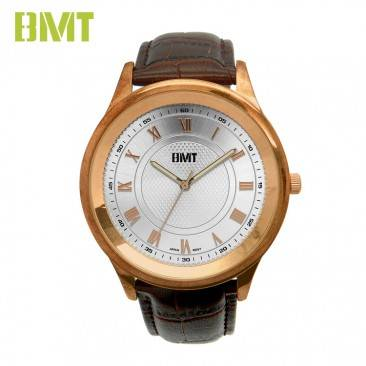 VT-S1923 High Quality Men Analog Quartz Movement Genuine Leather Men Watch