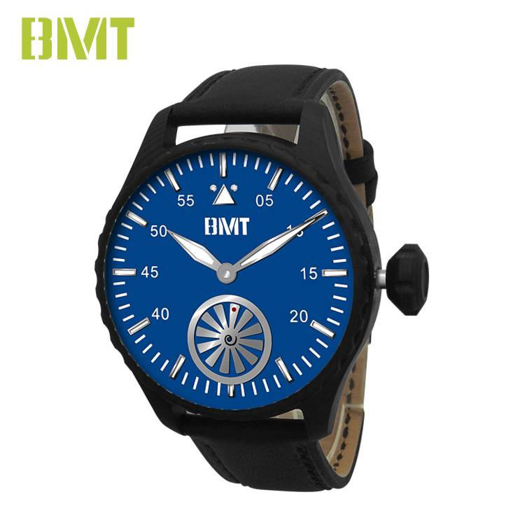 Wholesale Price China Pu Leather Band Men Watch -