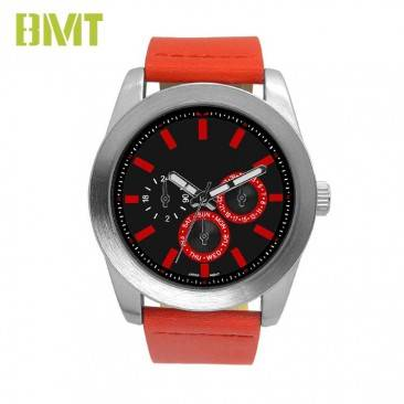 VT-S1919 BMT Trendy Leather Strap Quartz Men Watches