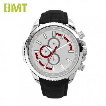 VT-S1914 Customized Cool Men's Fashion leather Band Sporty Dial Alloy Watch