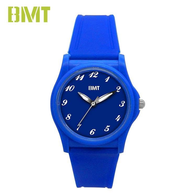 VT-PW1901-2 Original Factory OEM Men Blue thin Sport Analog Plastic Quartz Watch Featured Image