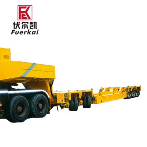 150ton,five-wire ten-axle,multi-function steering system-Follow-up steering
