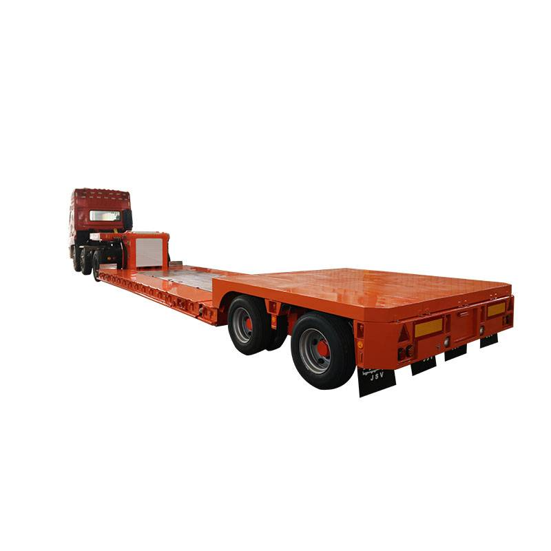 Lowest Price for Used 3 Axle Flatbed - 2 axle 16 wheel trailer – Vulcan