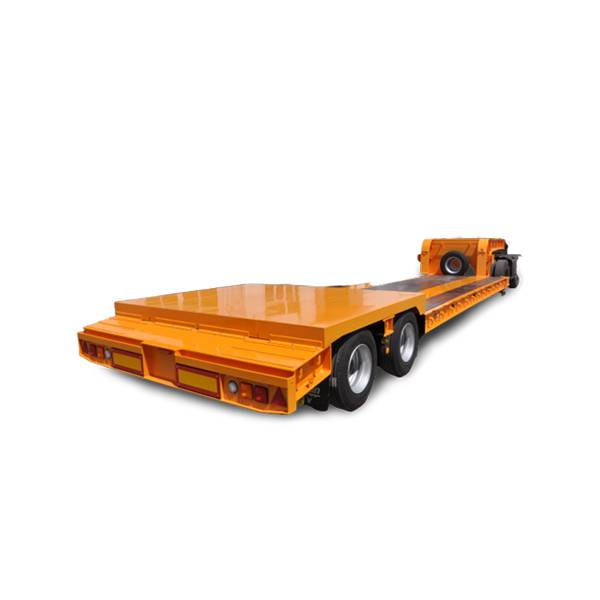 18 Years Factory Low Bed Semi Trailer -