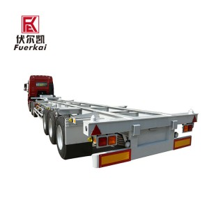Wholesale Dealers of Modular Heavy-Duty Vehicles/Trailer - 20-50ton container semi trailer – Vulcan