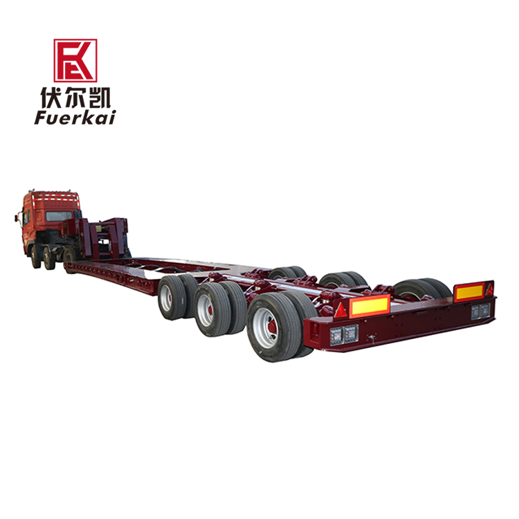 3 axle low platform semi trailer Featured Image