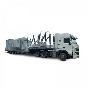 Factory source 3 Axle Semi Trailer - Power Equipmenttransportation,low bed,ladder-Other customed transporter – Vulcan