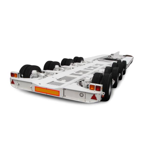 Best quality Low Flatbed Semi Trailer - 4 axle ultra low platform semi trailer – Vulcan