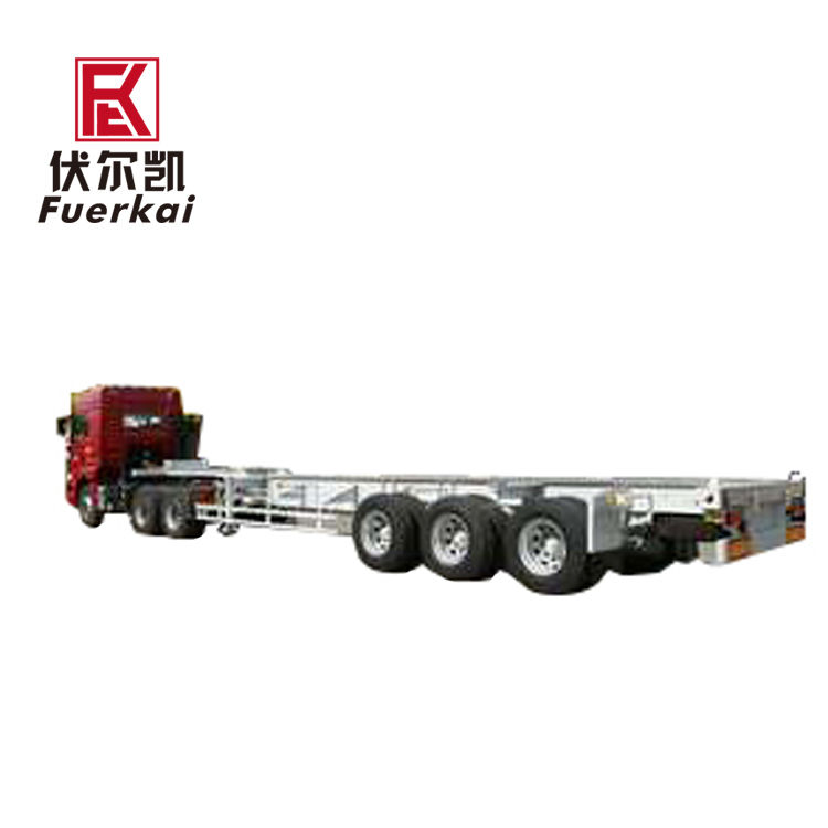 China wholesale Truck-Mounted Rig Chassis – Various types of generator room transporter chassis – Vulcan