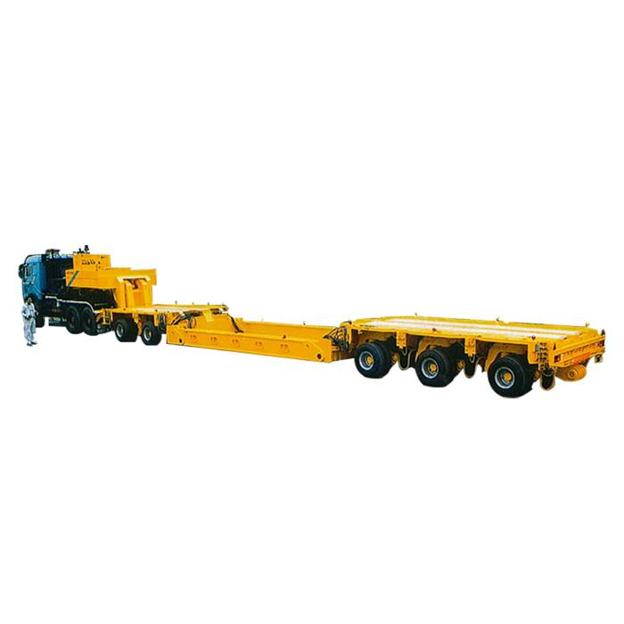 Best quality Mechanical Semi-Trailer - 5axle,narrow road,steerable tires-Linkage steering – Vulcan