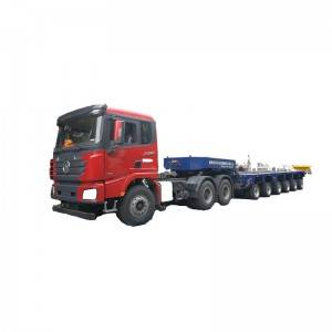 China Manufacturer for Articulated Lorry - 6 axles lowbed modular trailer – Vulcan