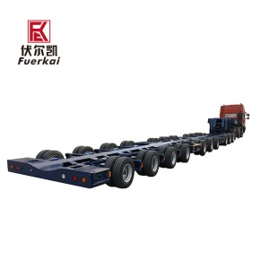 Best Price for Lowbed Semi Trailer -