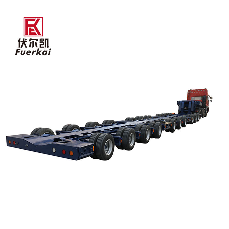 Good Quality Trailers Trucks - Ultra low platform multi axle semi trailer – Vulcan