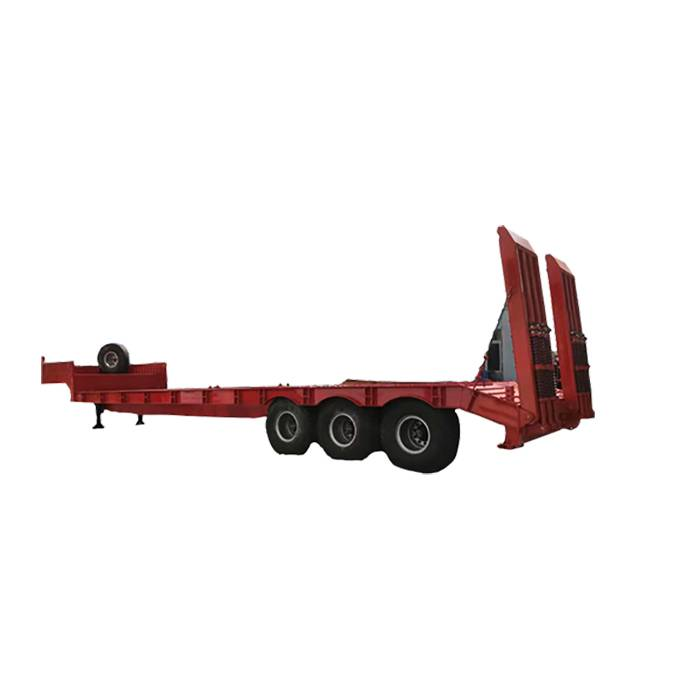 Cheap PriceList for Flatbed Trailer For Sale - 70T lowbed trailer – Vulcan