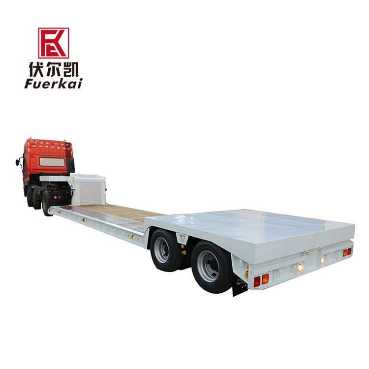 Wholesale Dealers of Semi Trailer Truck Trailer - Extandable platform hydraulic semi trailer for precision transporter – Vulcan Featured Image