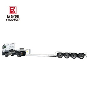 Factory Supply Ultra-Low Platform Semi-Trailer -