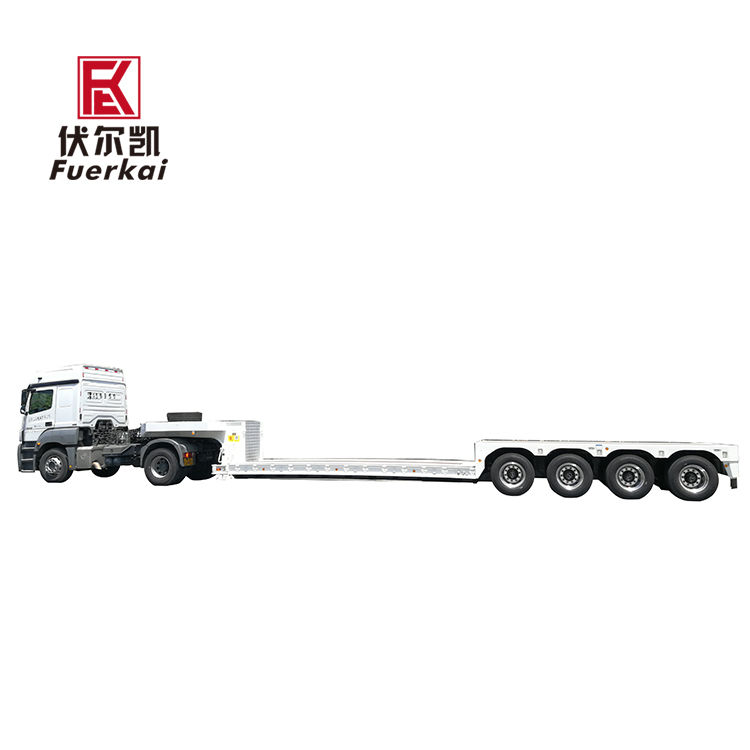 PriceList for Flatbed Trailers - 4 axle semi trailer – Vulcan Featured Image