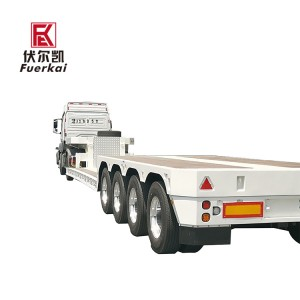 China Supplier Large Cargo Transportation Semi Trailer -