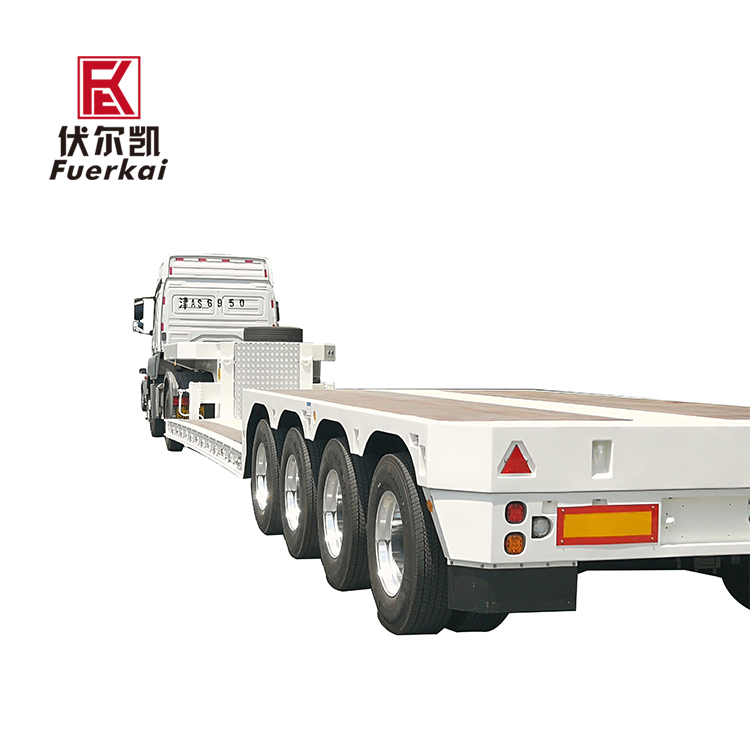 Factory wholesale Low Bed Semi Trailer Price - Heavy duty 4 axle semi trailer – Vulcan