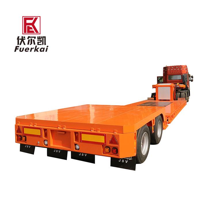 Factory best selling Container Semi Trailer - Light duty air suspension precision instrument transporter semi trailer – Vulcan