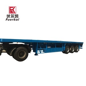 OEM/ODM Factory 40ft Truck And Trailer Dimensions - Light weight container semi trailer – Vulcan