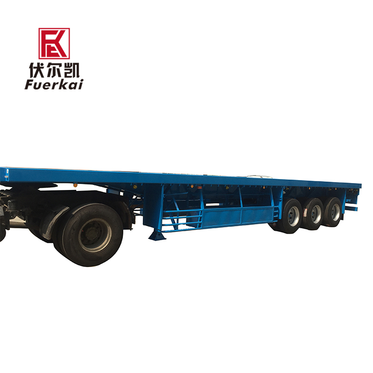2019 New Style 3 Axis Semi Trailer - Light weight container semi trailer – Vulcan