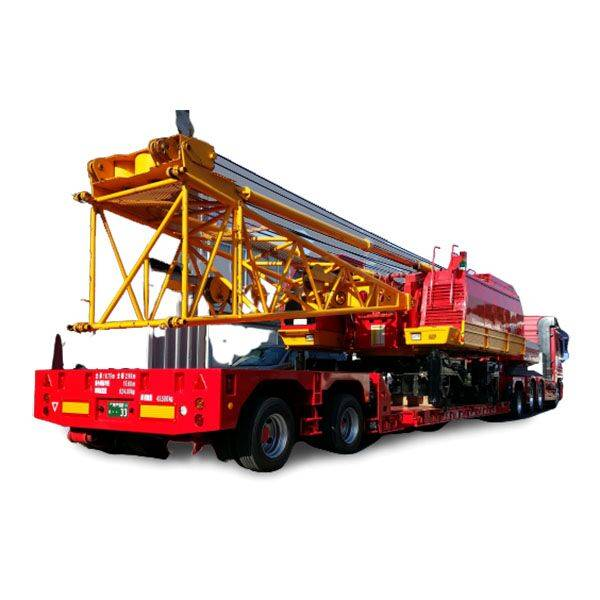High reputation Semi Trailer Fifth Wheel - Modular,remotecontrol,transport construction machinery-Follow-up steering – Vulcan