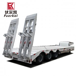 Factory Free sample Semi Trailer Chassis - Professional-Flat-Track-Trailer-With-Low-Price – Vulcan