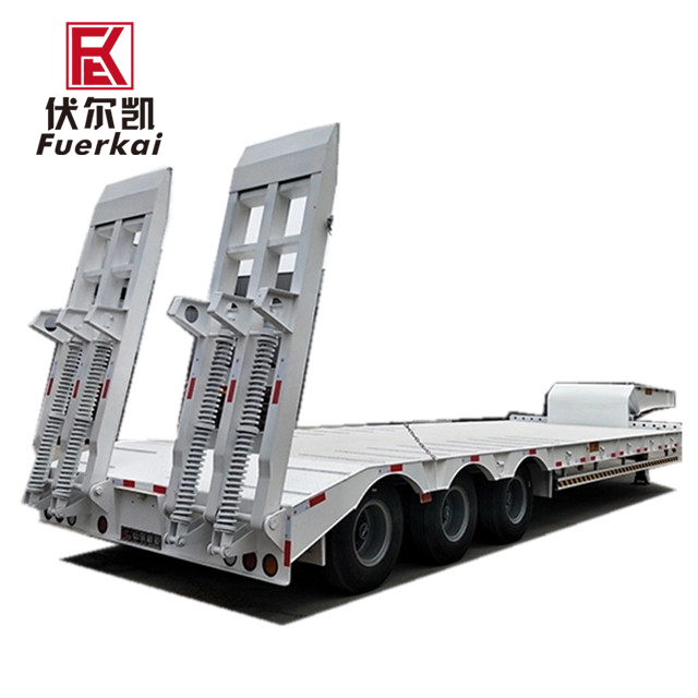2019 Good Quality Ultra-Low Flatbed Transport Vehicles - Professional-Flat-Track-Trailer-With-Low-Price – Vulcan