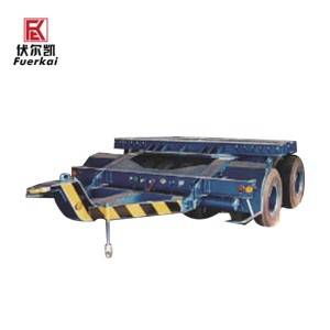 Various types of generator room transporter chassis