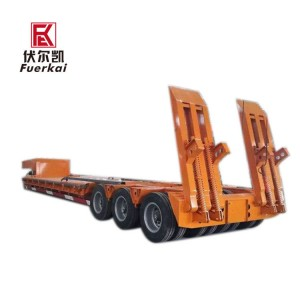 Heavy duty hydraulic semi-trailer