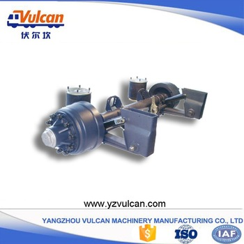 China wholesale Multi Axle Semi-Trailer -  Semi trailer air suspension1 – Vulcan