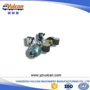 OEM/ODM Supplier Tri Axle Flatbed Trailer -  Semi trailer air suspension3 – Vulcan
